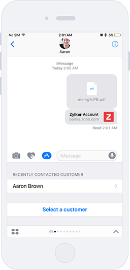 Send Invoices | Accounting App - Zoho Books