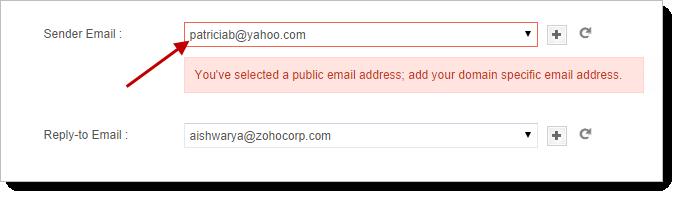 change my yahoo account domain
