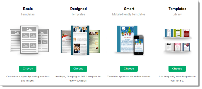 Create campaign online help zoho campaigns smart templates these templates are optimized for viewing on mobile devices maxwellsz