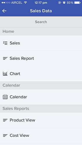 sales reports forms