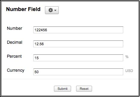 Zoho Creator: Add Number field