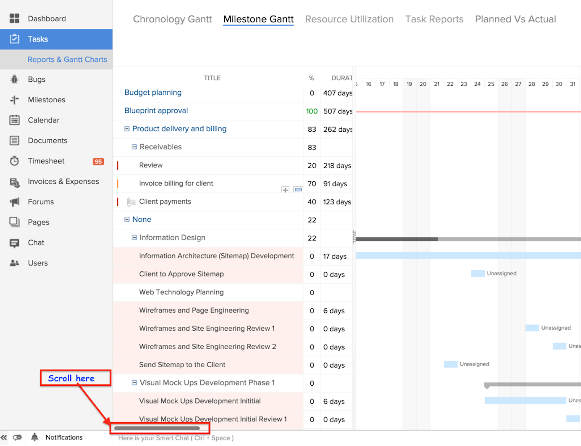 Gantt view online help zoho projects scroll details nvjuhfo Images